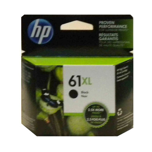 HP61XL CH563WN Black Original Inkjet Cartridge High Yield