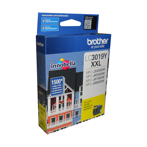 Brother® - LC-3019 Ultra High Yield Yellow Ink Cartridge (LC3019YS)