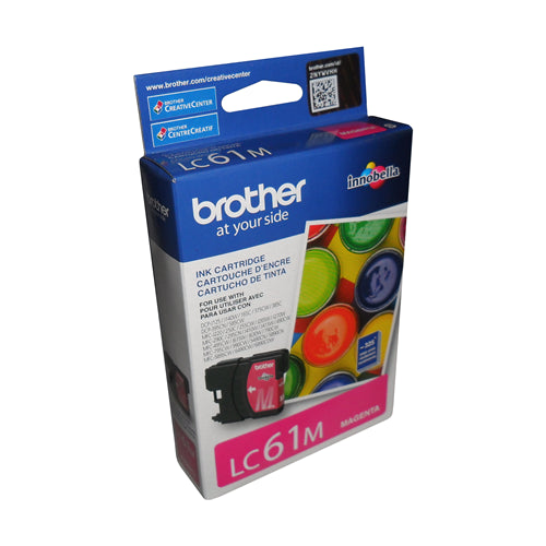 Brother® – Cartouche d'encre LC-61 magenta rendement stantard (LC61MS)