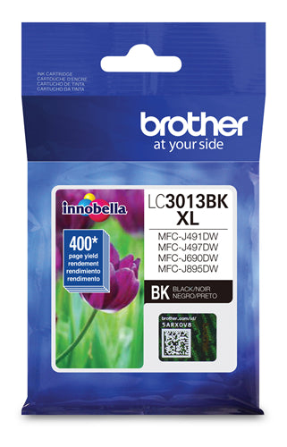 Brother® - LC-3013 Black High Yield Ink Cartridge (LC3013BKS)