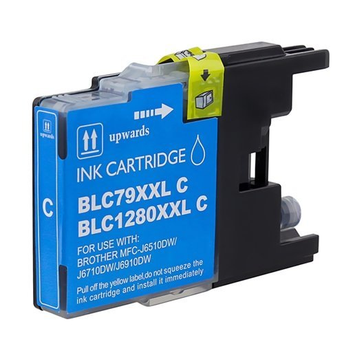 Brother LC79XXL cartouche d'encre cyan compatible avec brother-1/paquet.