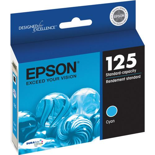 Epson® – Cartouche d'encre 125 cyan rendement standard (T125220) - S.O.S Cartouches inc.