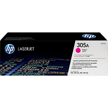 HP® – Cartouche Toner LaserJet 305A magenta rendement standard (CE413A) - S.O.S Cartouches inc.