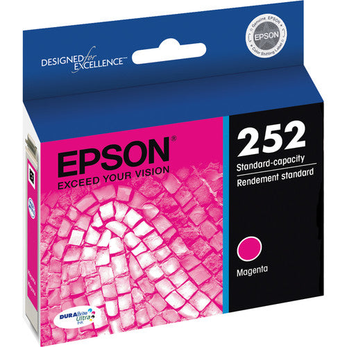 Epson® – Cartouche d'encre 252 magenta rendement standard (T252320) - S.O.S Cartouches inc.