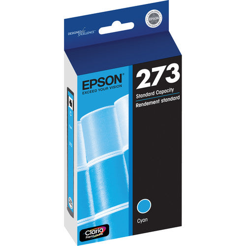 Epson® – Cartouche d'encre 273 cyan rendement standard (T273220) - S.O.S Cartouches inc.