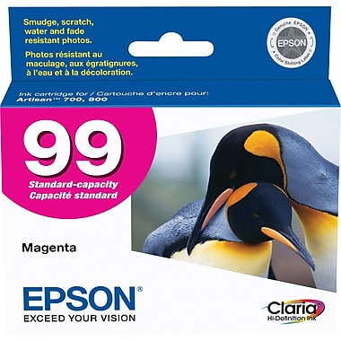 Epson® – Cartouche d'encre 99 magenta rendement standard (T099320) - S.O.S Cartouches inc.
