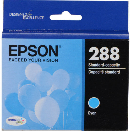 Epson® – Cartouche d'encre 288 cyan rendement standard (T288220) - S.O.S Cartouches inc.
