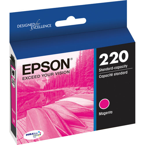 Epson® – Cartouche d'encre 220 magenta rendement standard (T220320) - S.O.S Cartouches inc.