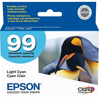 Epson® – Cartouche d'encre 99 cyan rendement standard (T099220) - S.O.S Cartouches inc.