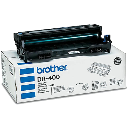 Brother® – Tambour (DRUM)  DR-400 rendement stantard (DR400) - S.O.S Cartouches inc.