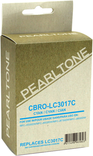 Brother LC3017 cartouche d'encre cyan produit pearltone® compatible avec brother-1/paquet. - S.O.S Cartouches inc.