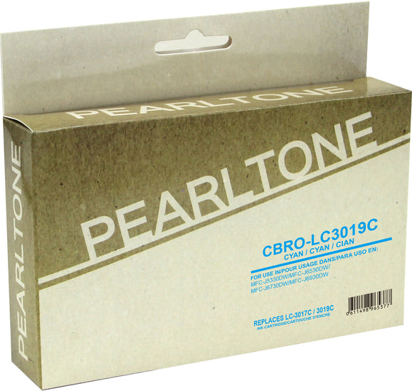 Brother LC3019 cartouche d'encre cyan produit pearltone® compatible avec brother-1/paquet. - S.O.S Cartouches inc.