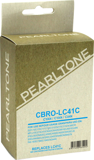 Brother LC41 cartouche d'encre cyan produit pearltone® compatible avec brother-1/paquet. - S.O.S Cartouches inc.