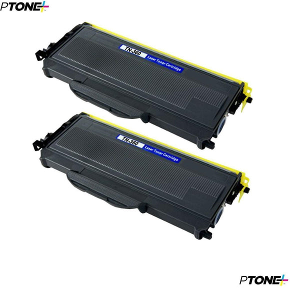 Brother TN360 cartouche toner noire version à haut rendement de TN330 produit ptone® compatible avec brother-2/paquet. - S.O.S Cartouches inc.