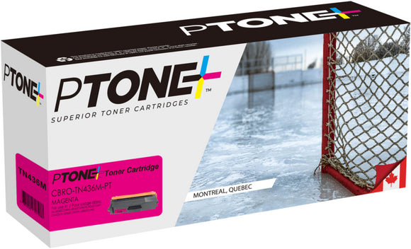Brother TN436 cartouche toner magenta version à haut rendement de TN433 produit ptone® compatible avec brother-1/paquet. - S.O.S Cartouches inc.