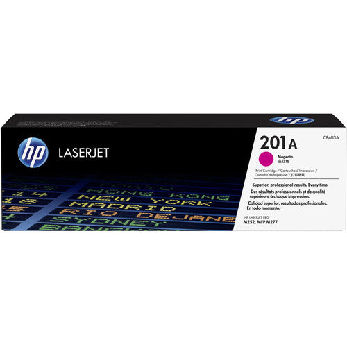 HP® – Cartouche Toner LaserJet 201A magenta rendement standard (CF403A) - S.O.S Cartouches inc.