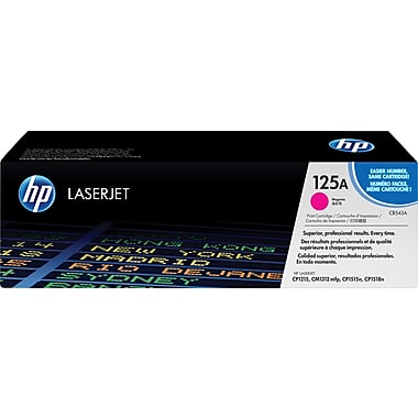 HP® – Cartouche Toner LaserJet 125A magenta rendement standard (CB543A) - S.O.S Cartouches inc.