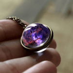 Cosmic Orb Pendant Necklace