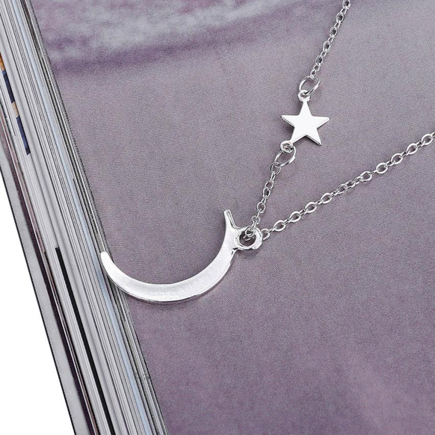 Crescent Moon Necklace - Auric Jewelers