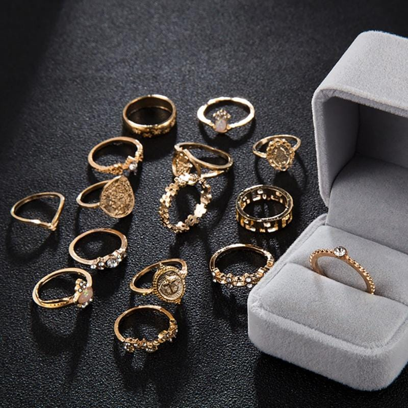 """The Virgin"" Ring Set"