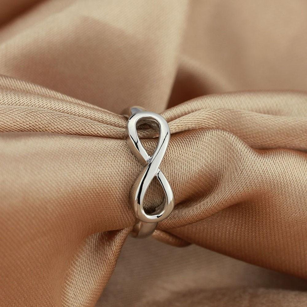 Sterling Silver Infinity Ring - Auric Jewelers