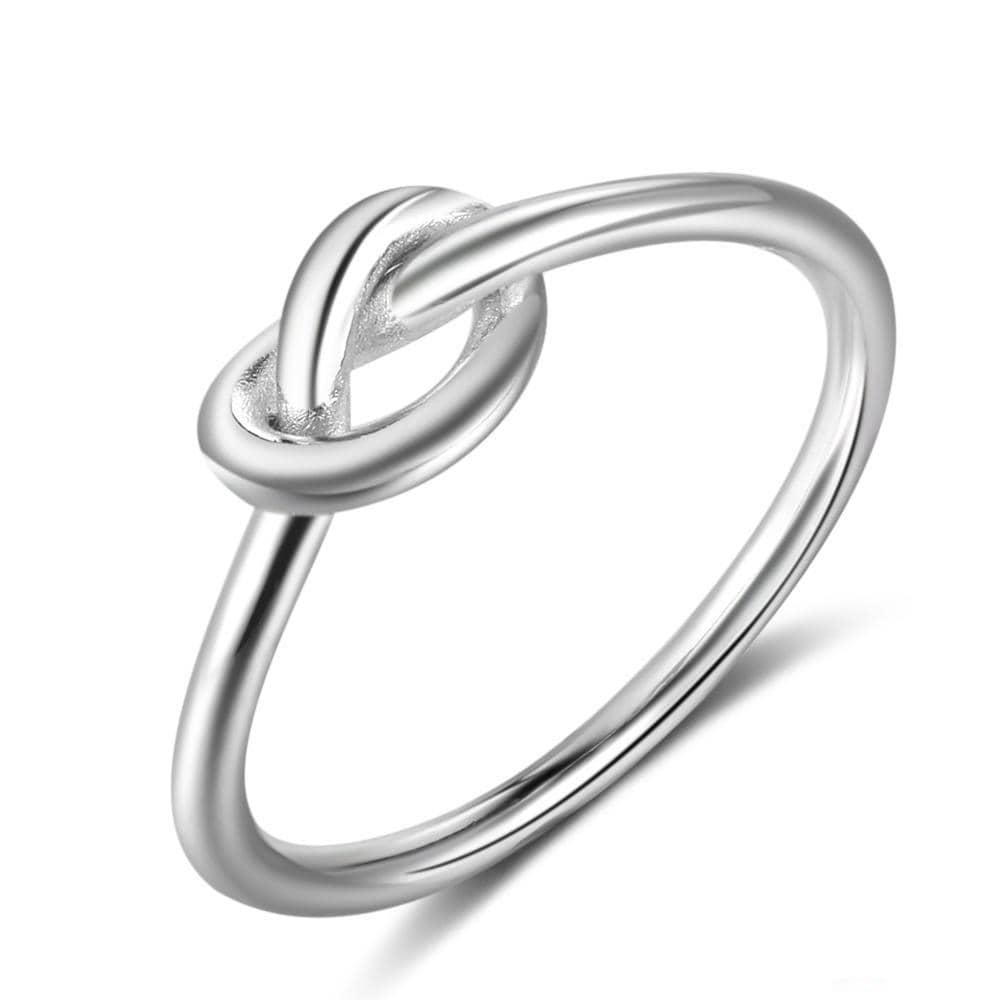 Sterling Silver Knotted Ring - Auric Jewelers