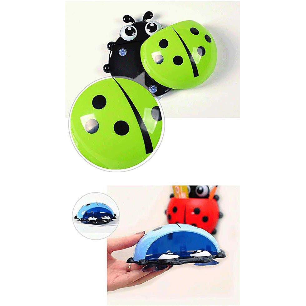Creative Cute Cartoon Ladybug Kids Wall Suction Cup