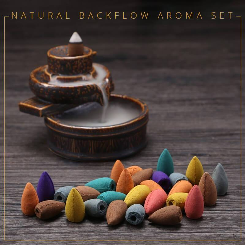 Natural Backflow Aroma Set
