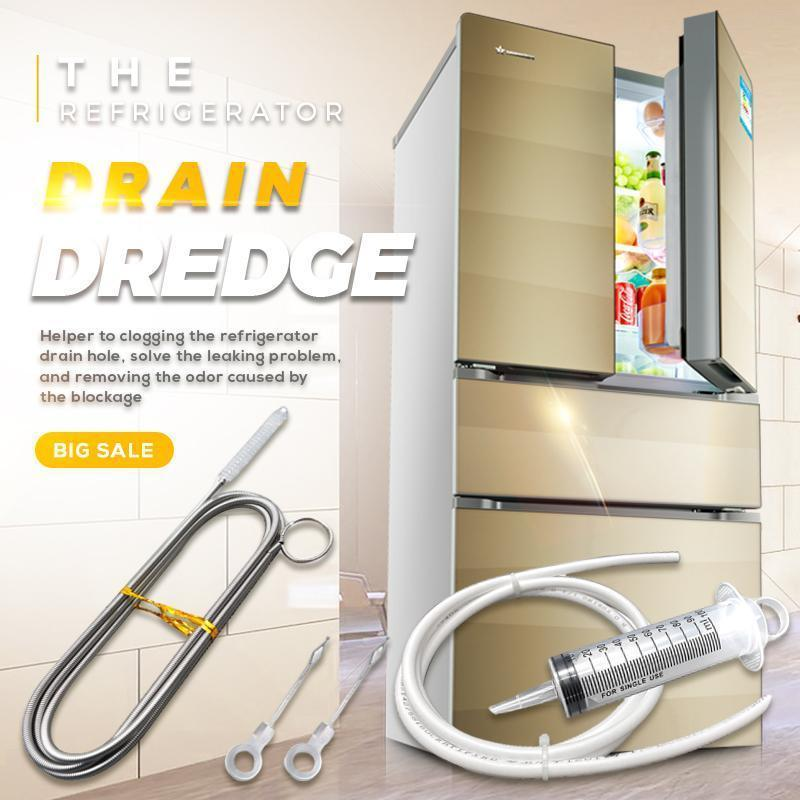 Refrigerator Drain Dredge & Cleaning Set
