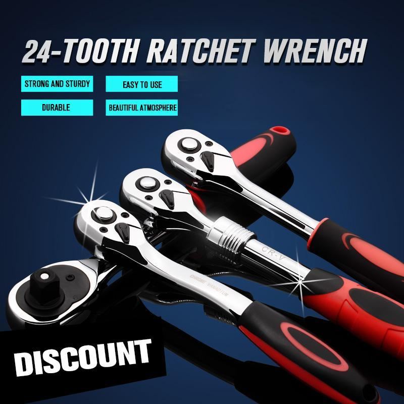 24-tooth Ratchet Wrench