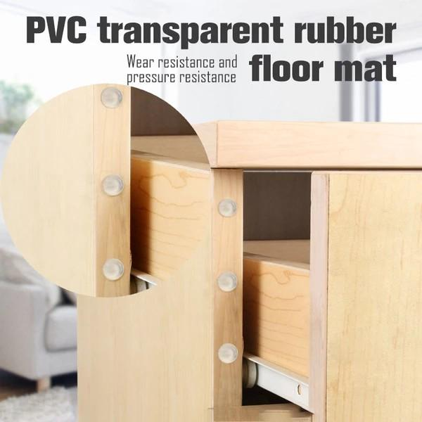 Transparent Rubber Bumper Feet Pads