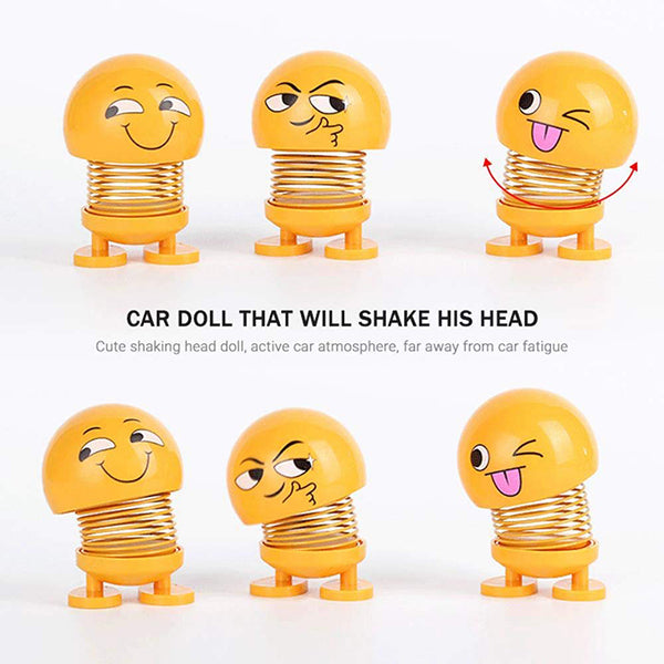 Spring Shaking Head Dolls (8Pcs)