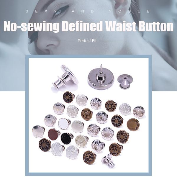 No-sewing Defined Waist Button (4Pcs)