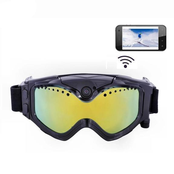 Ski HD photography goggles