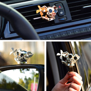 Car Aromatherapy Decoration Pig