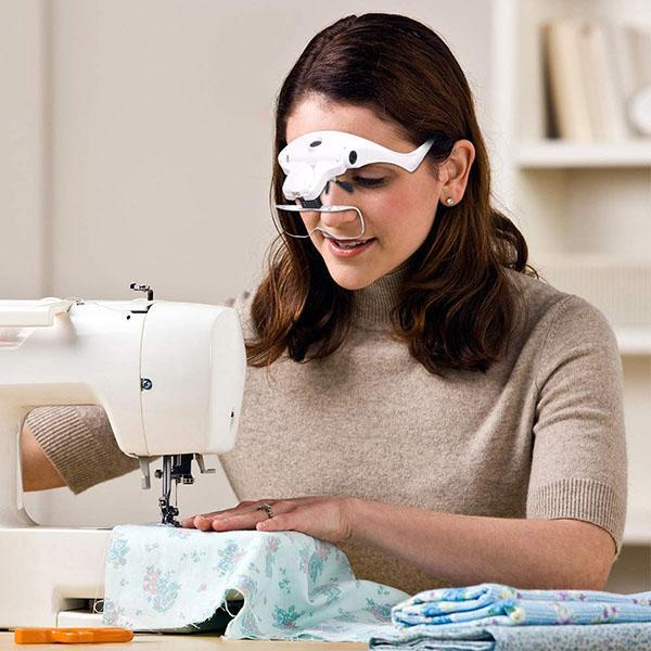 LED Eyeglasses Headband Magnifier