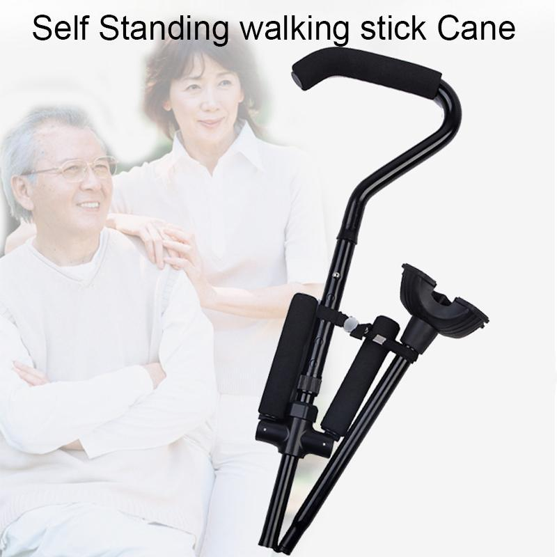 Self Standing Walking Stick Cane