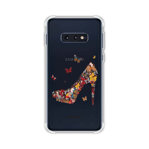 Butterfly High Heels Soft Flex Tpu Case For Samsung Galaxy S10e