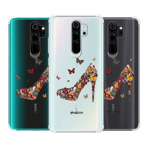 Butterfly High Heels Soft Flex Tpu Case For Redmi Note 8 Pro