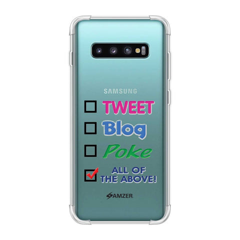 Tweet Soft Flex Tpu Case For Samsung Galaxy S10 Plus