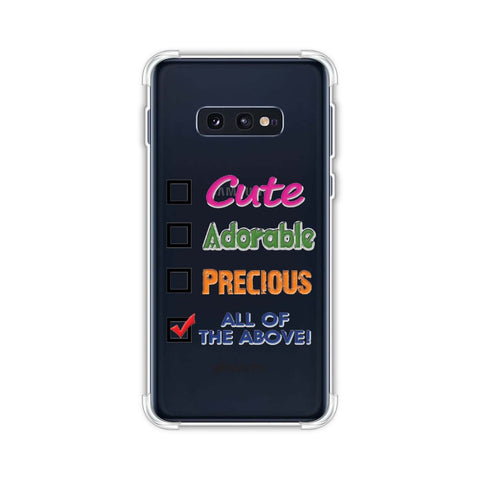 Cute Soft Flex Tpu Case For Samsung Galaxy S10e