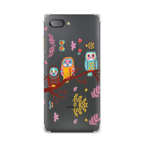 Owls On Branch Soft Flex TPU Case For BlackBerry Key2