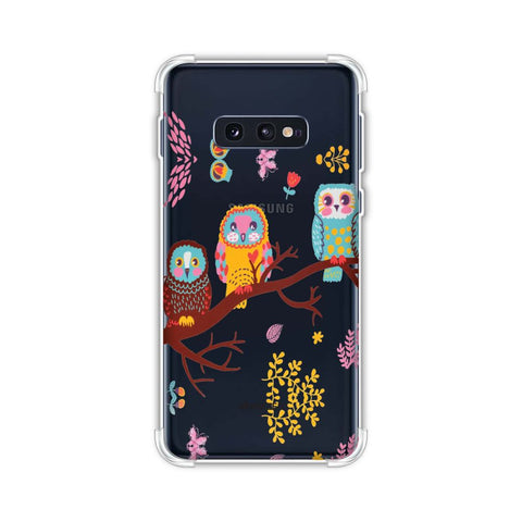 Owls On Branch Soft Flex Tpu Case For Samsung Galaxy S10e