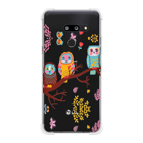 Owls On Branch Soft Flex Tpu Case For LG G8 ThinQ