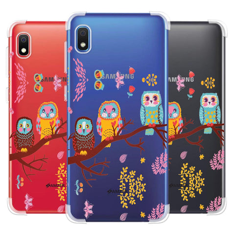 Owls On Branch Soft Flex Tpu Case For Samsung Galaxy A10e