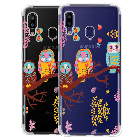 Owls On Branch Soft Flex Tpu Case For Samsung Galaxy M10s