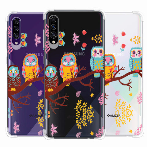 Owls On Branch Soft Flex Tpu Case For Samsung Galaxy A30s