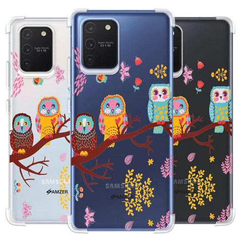 Owls On Branch Soft Flex Tpu Case For Samsung Galaxy S10 Lite