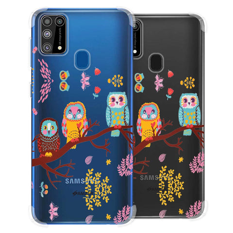 Owls On Branch Soft Flex Tpu Case For Samsung Galaxy M31