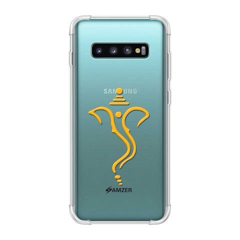 Shri Ganesh Vakratunda Mahakaya Soft Flex Tpu Case For Samsung Galaxy S10 Plus